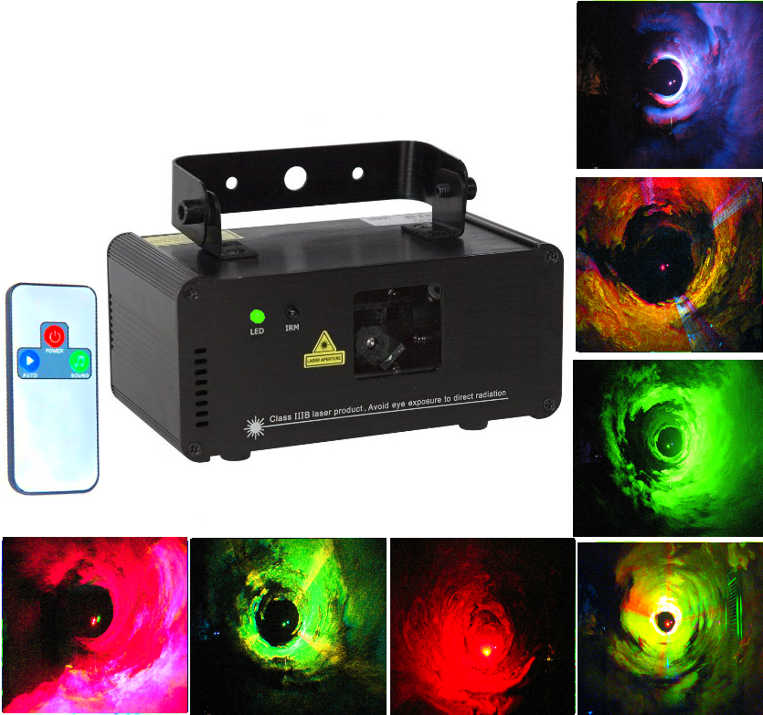 Лазерная цветомузыка для дискотек