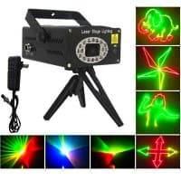 купить недорого клубный лазерный проектор для дома, кафе, клуба