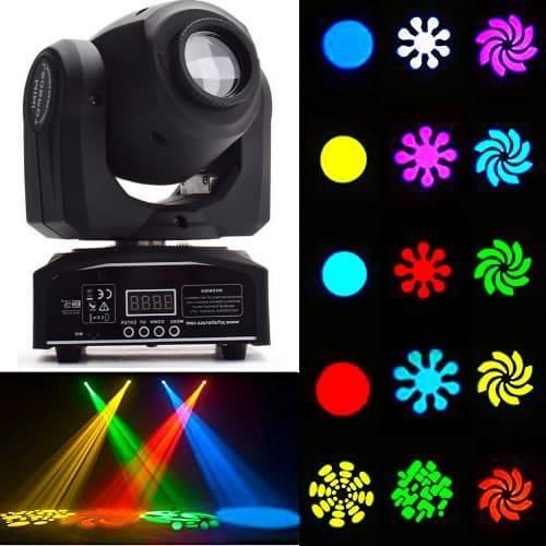 Поворотные головы LED купить для дискотеки и клуба